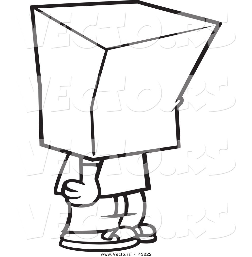 Person Coloring Page Clipart