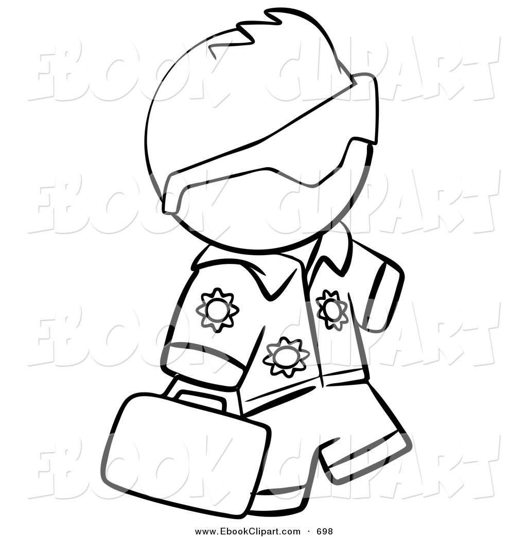 Cool Person Coloring Page Outline Gallery - Resume Ideas - namanasa.com