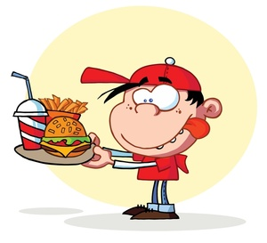 300x273 Free Hungry Person Clipart Image 0521 1003 2615 1149 Computer