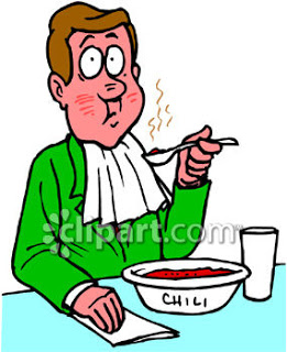 261x320 People Eating Clipart