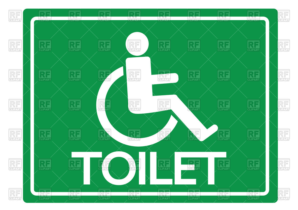 1200x848 Icon Of Toilet For Disabled Person, Logo For Restroom