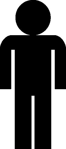 264x593 Man Symbol Sign Clip Art