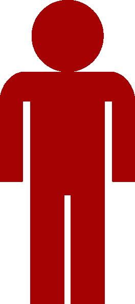 264x593 Person Symbol Clipart