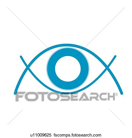 450x470 Clipart Of Optician's Shop, Icons, Ophthalmology, Pupils, Pupil