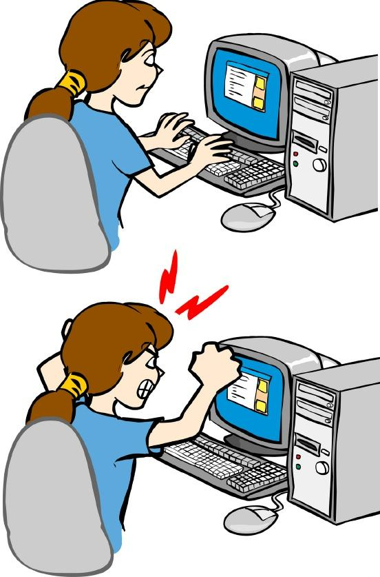 552x837 Free Clipart Frustrated Person