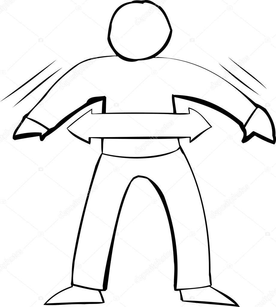 920x1023 Outline Symbol Of Fit Person Stock Vector Theblackrhino