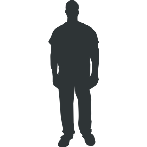 300x300 Person Outline 1 Clipart, Cliparts Of Person Outline 1 Free