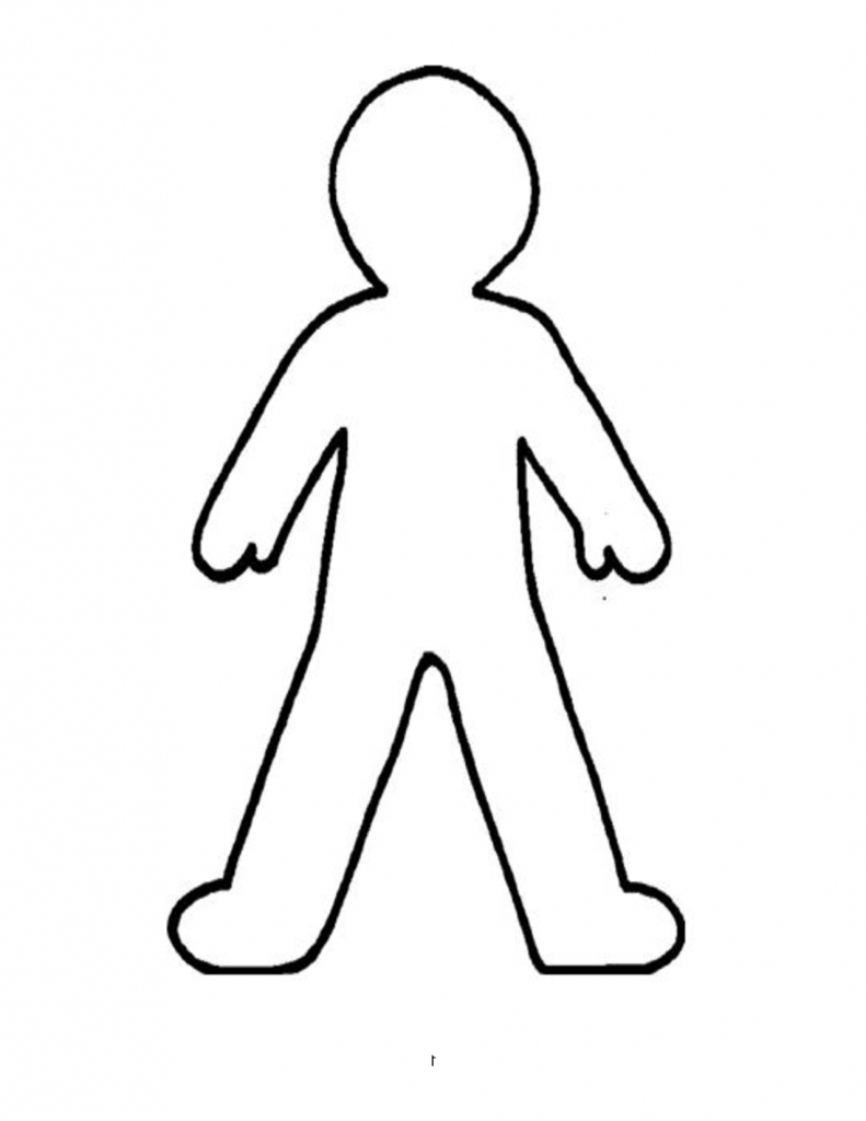 791x1024 Simple Drawing Of A Person Drawing Illustration Of Simple Non