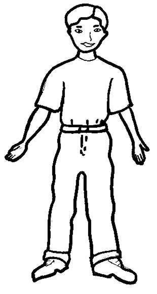 310x580 Body Clip Art