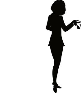 261x300 Businesswoman Clipart Image