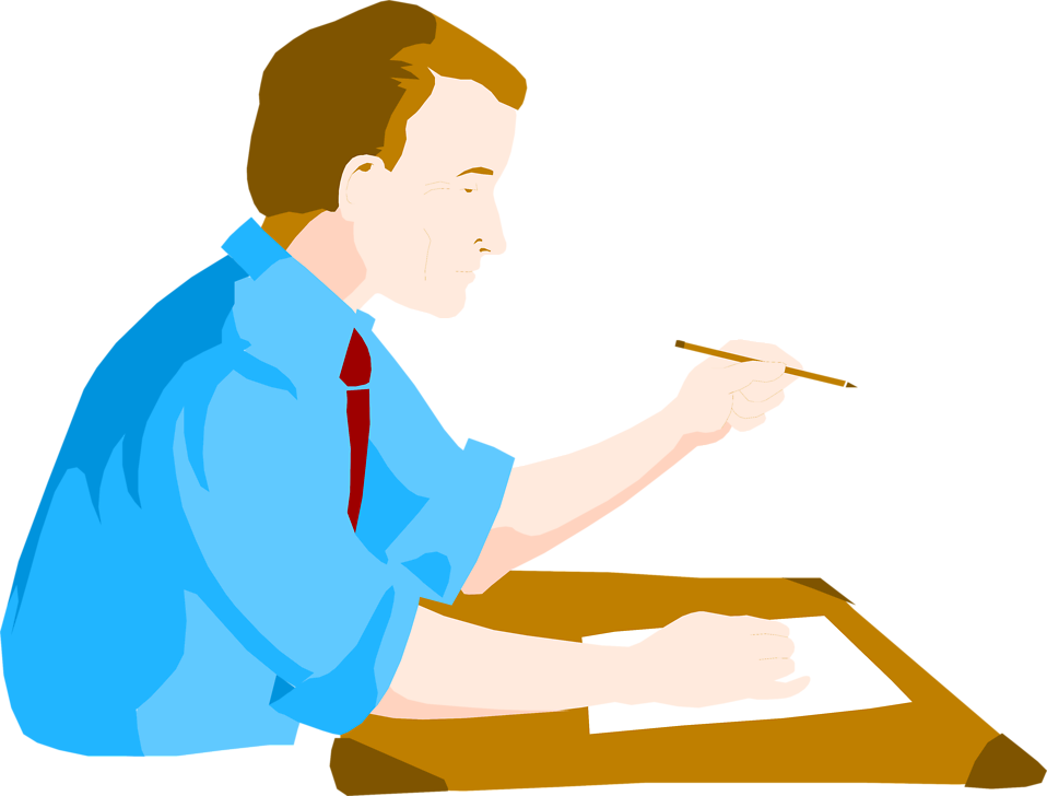 958x728 Desk Clipart Man