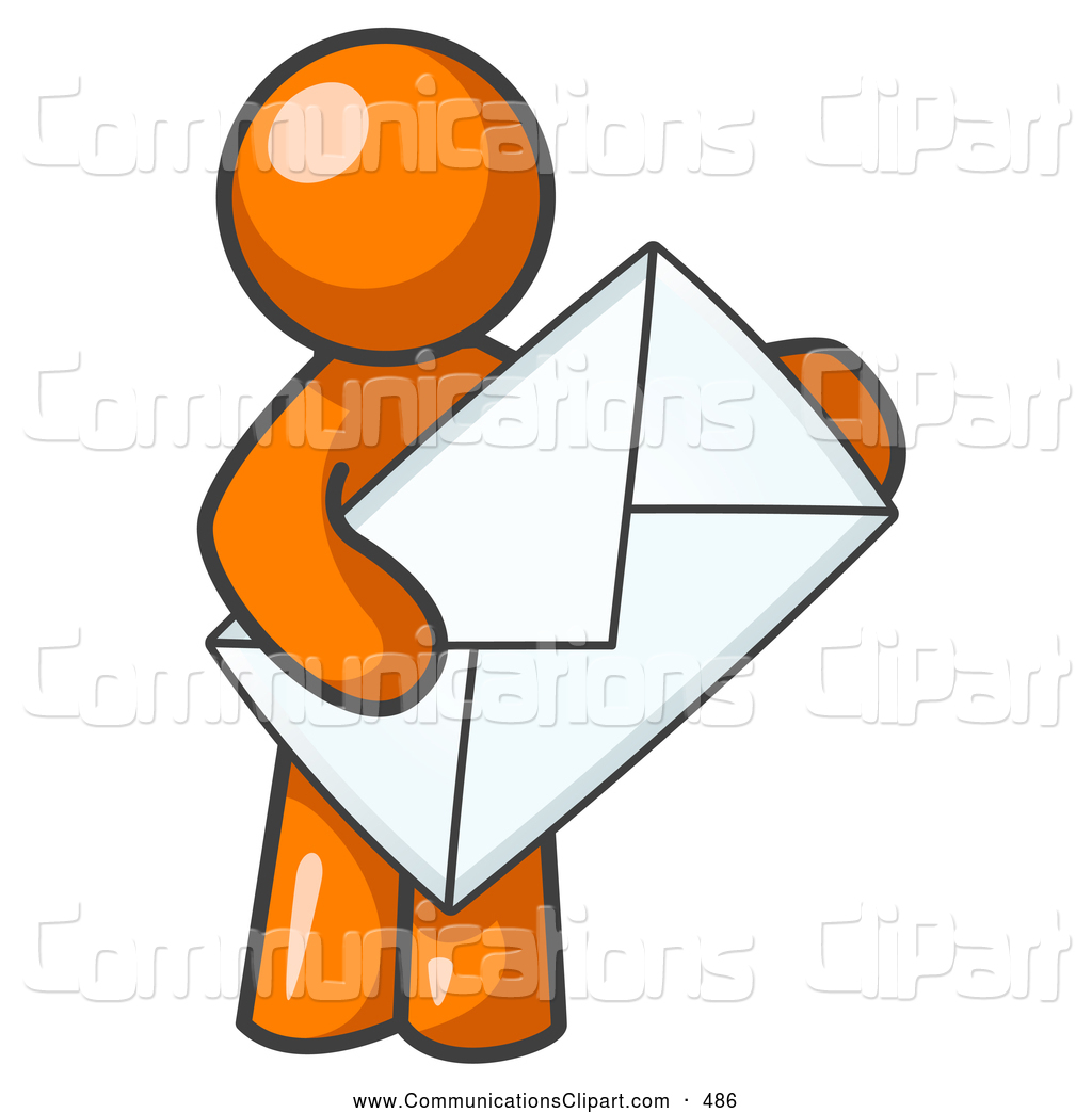 1024x1044 Communication Clipart Of A Average Office Worker Orange Person