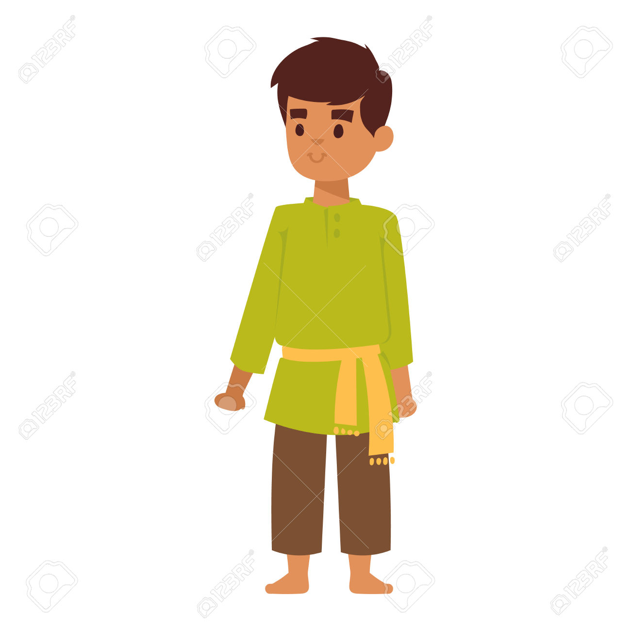 1300x1300 Traditional Clipart Indian Person