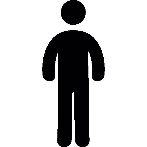512x512 Standing Up Man