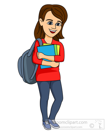 448x550 Situation Clipart College Student