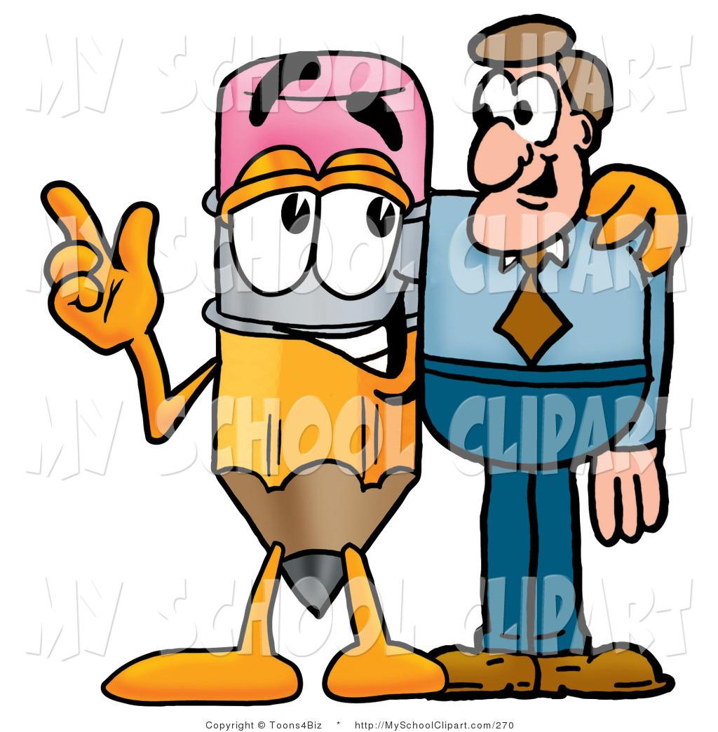 1024x1044 Cliprt Of Helpful Pencil Mascot Cartoon Character Talking