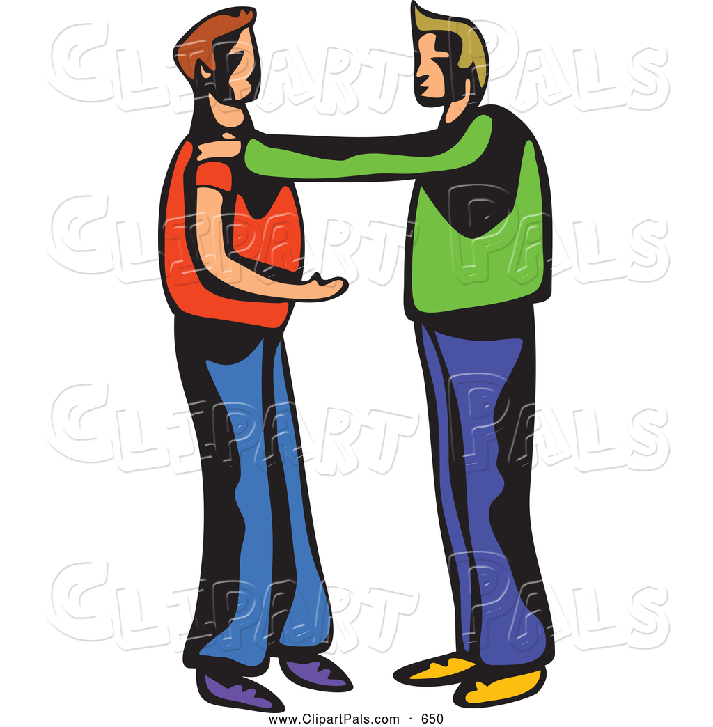 1024x1044 Pal Clipart Of Two Men Talking Or Arguing By Prawny