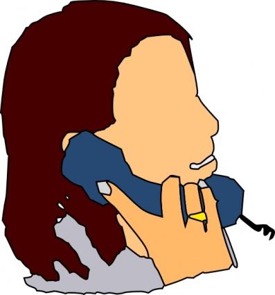 397x425 Person Talking Clipart
