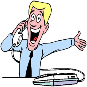 300x300 Talking On The Phone Clipart