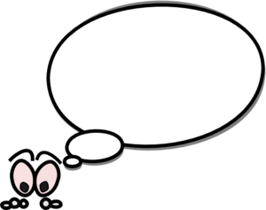 300x237 Speech Bubble With Person On Left Clip Art
