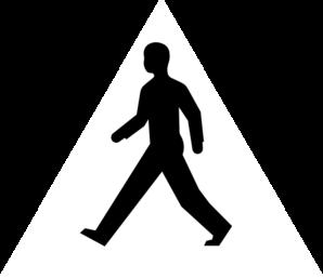 298x258 Male Body Walking Clip Art