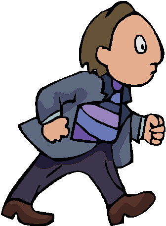 336x456 Person Walking Clipart