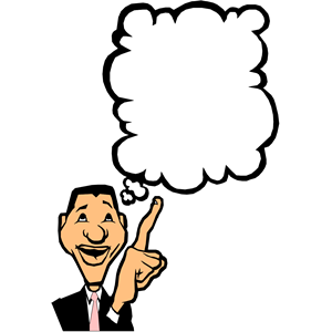 300x300 Clipart Of Person Thinking