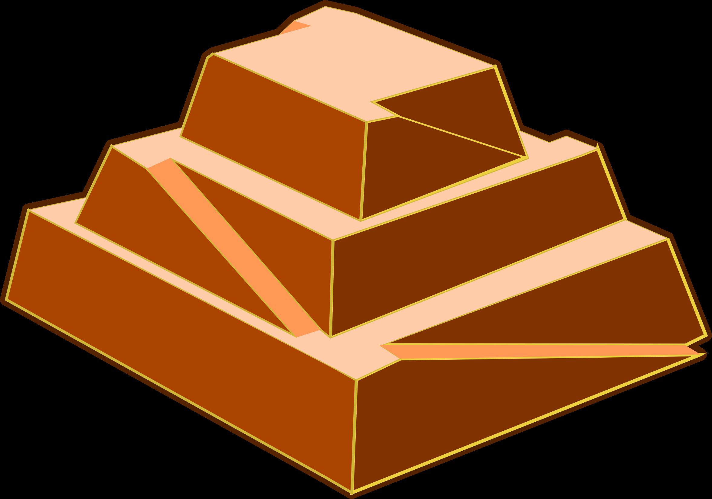 2354x1652 Pyramid Clipart Brick