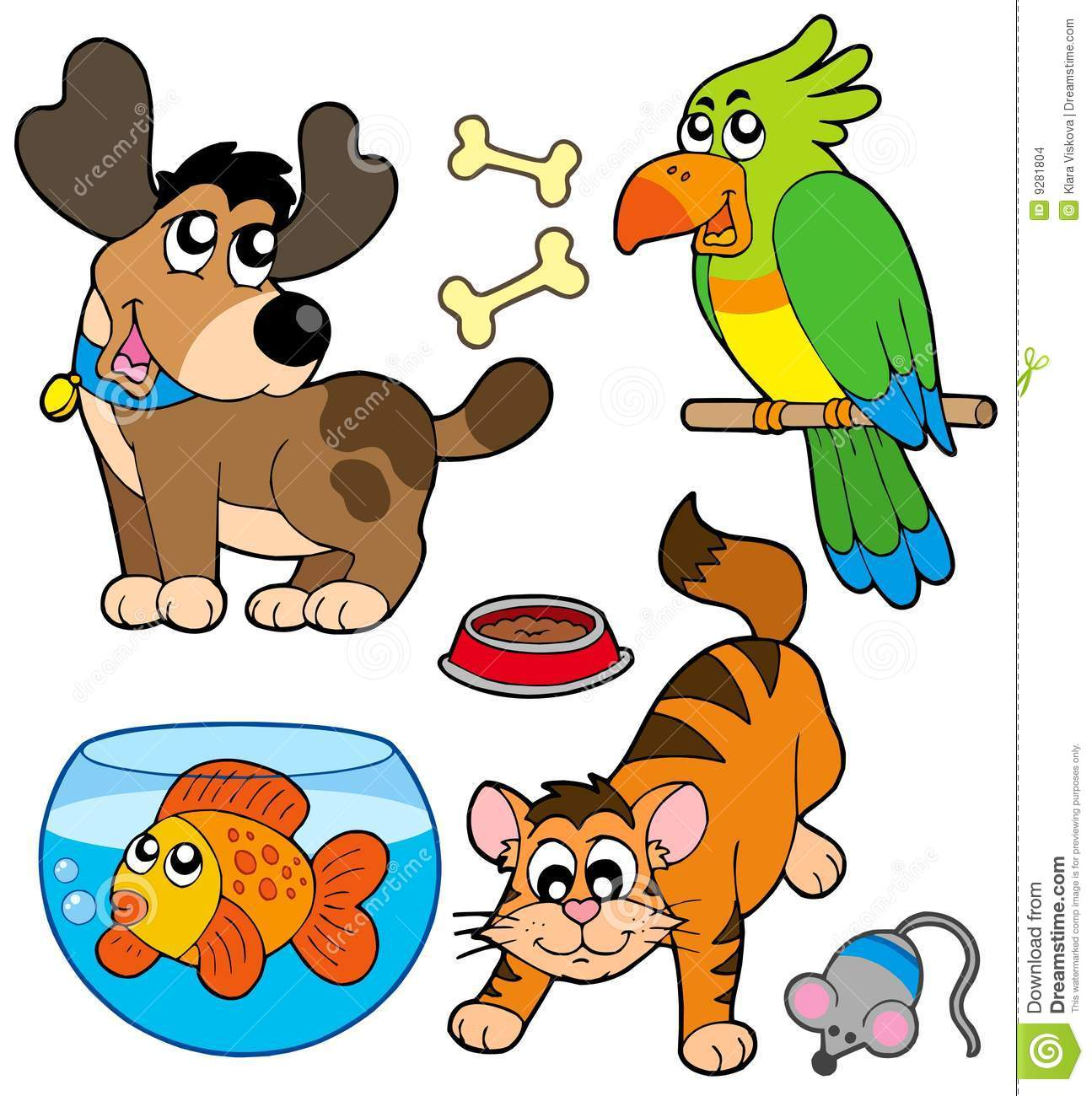 Pet Animals Clipart | Free download on ClipArtMag