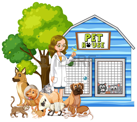 Pet House Clipart