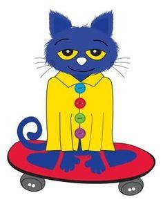 Pete The Cat Clipart