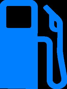 225x299 Blue Gas Pump Clip Art