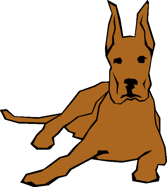 534x596 Dog Clip Art Cartoon Free Clipart Images