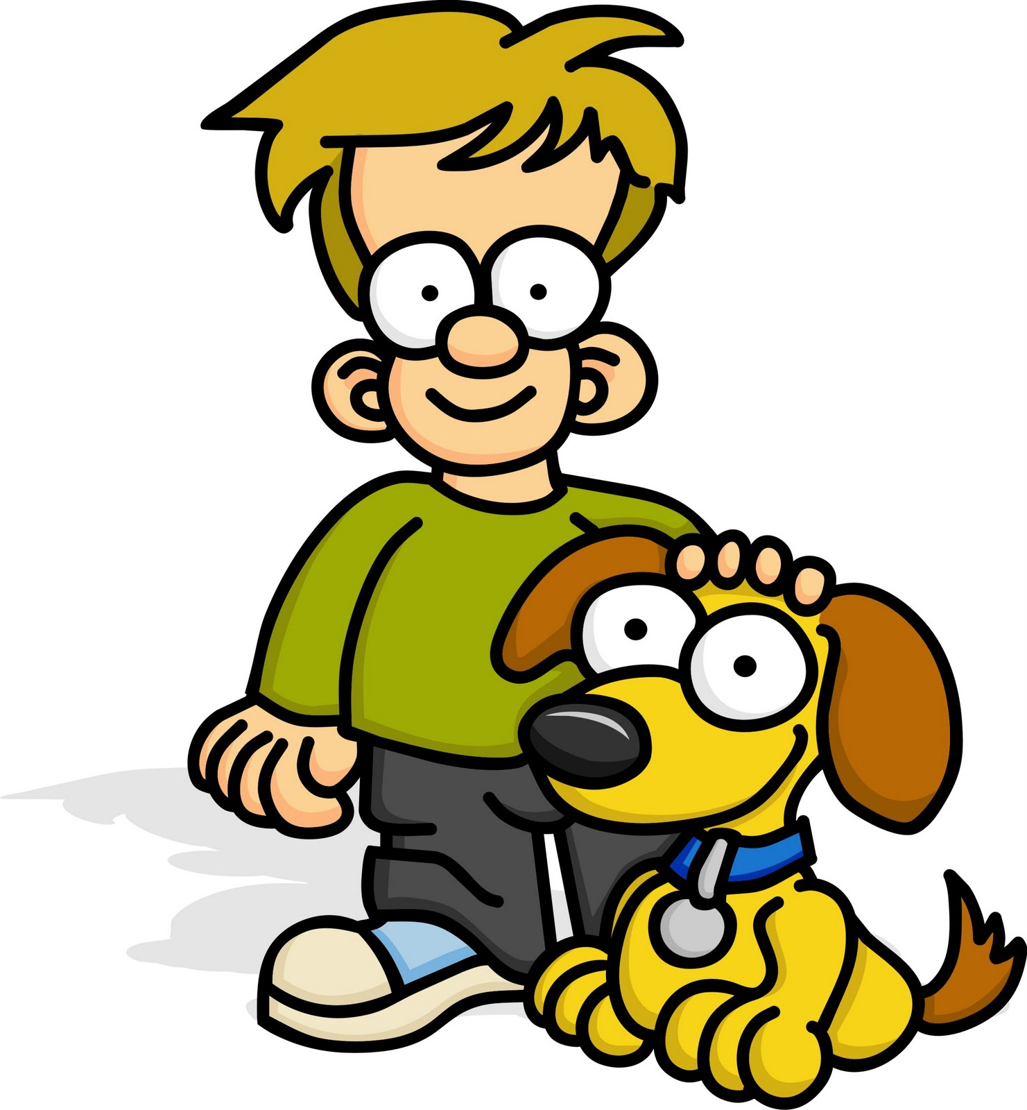 1481x1600 Kids With Pets Clipart