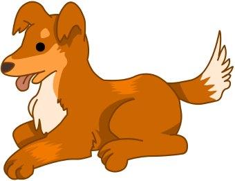 340x261 Clip Art Cartoon Pets Clipart