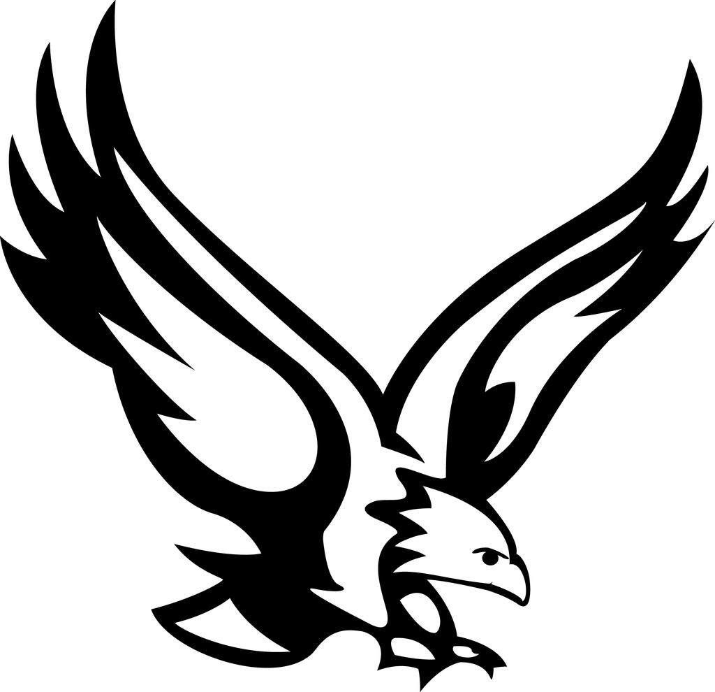 1024x990 Black Eagle Clipart Eagle One