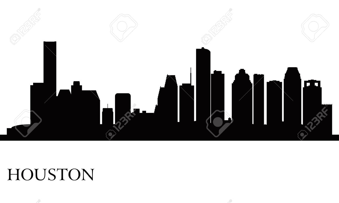 1300x779 Cityscape Clipart Houston Skyline
