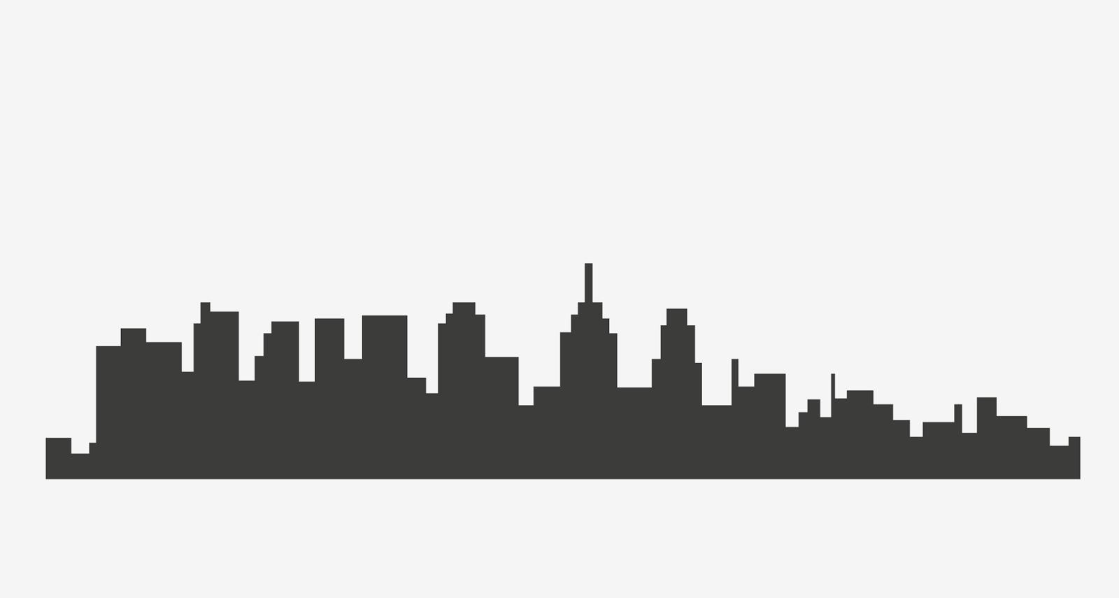 1600x855 Cityscape Clipart Philadelphia Skyline