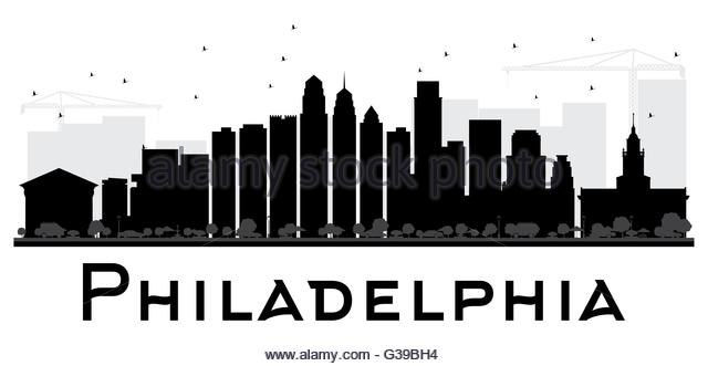 640x331 Philadelphia Skyline Cut Out Stock Images Amp Pictures