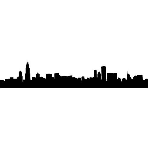 501x501 Philadelphia Skyline Outline