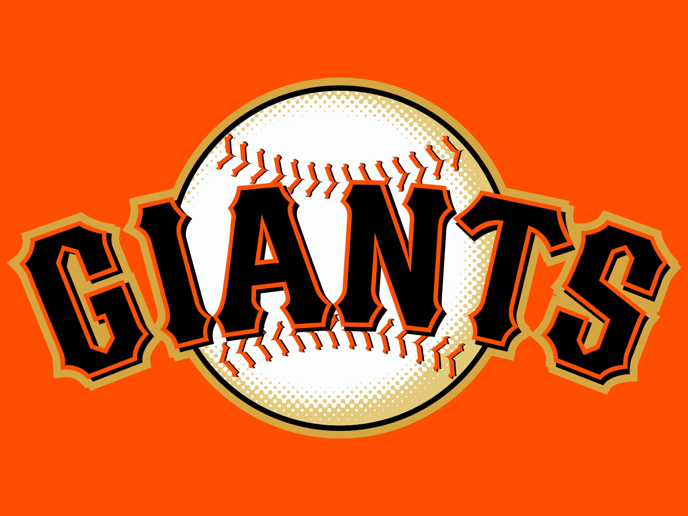 1365x1024 San Francisco Giants Clipart