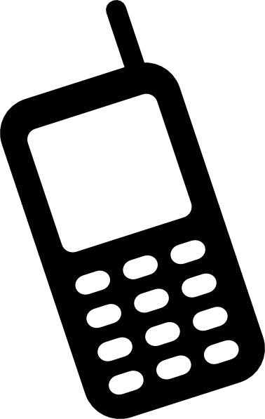 378x597 Cell Phone Animated Phone Clipart Clipart Kid