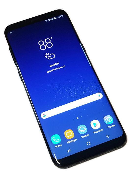 526x700 Us Cellular Samsung Galaxy S8 + Plus Black 64gb Clean Esn