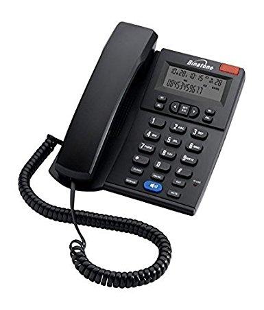 385x451 Binatone Concept 700 Corded Landline Phone (Black) Amazon.in