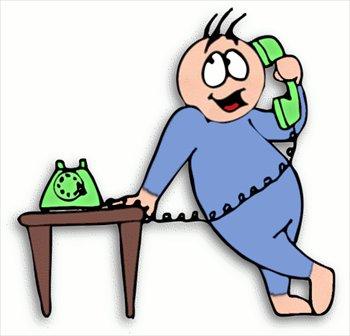350x336 Phone Call Clip Art