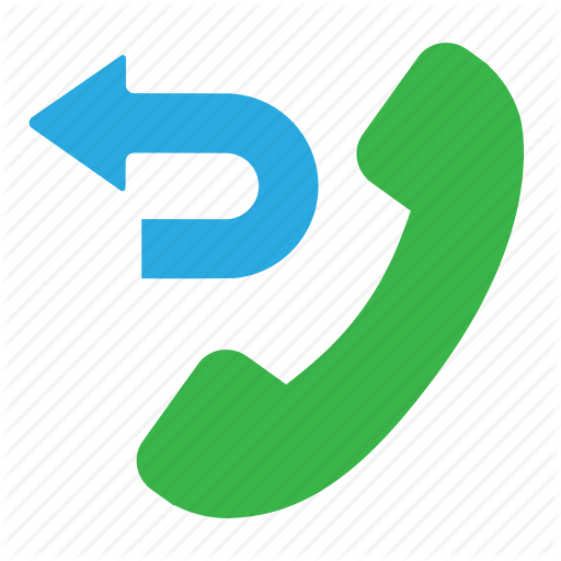 512x512 Call Back, Missed Call, Phone Me Back, Transfer Call Icon Icon