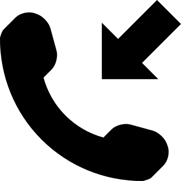 626x626 Incoming Phone Call Symbol Icons Free Download
