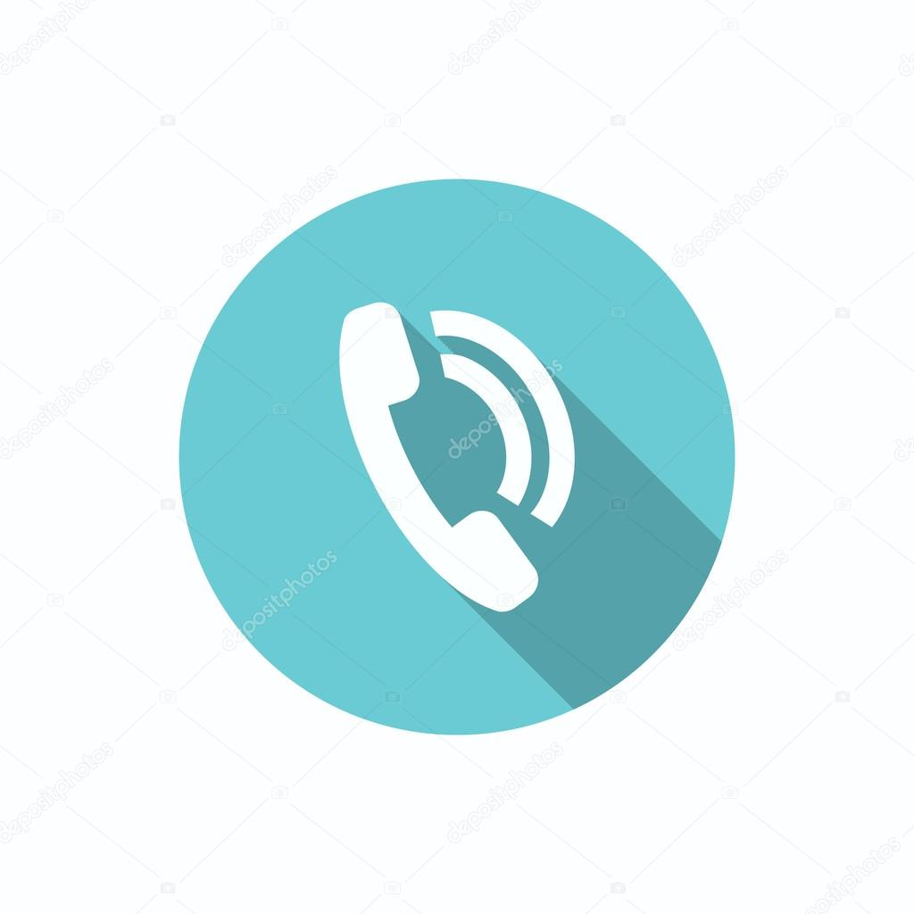1024x1024 Phone Call Web Icon Stock Vector Lovart