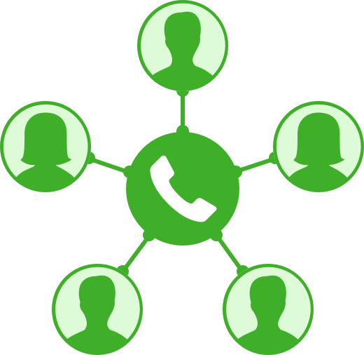 520x506 Small Business Phone Service Conferencing