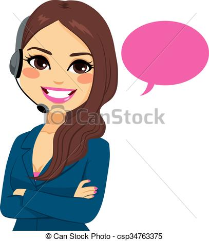 407x470 Woman Clipart Phone Call